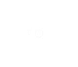 White outlined drawing of a round monster, with six arms, three eyes, two feet and two antennae