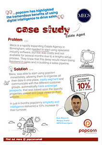Mecs Estate Agency - popcorn Case study