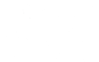 White outlined drawing of question marks for designed for small businesses page