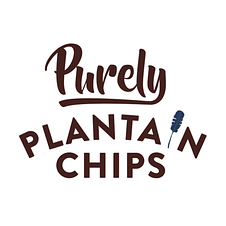 purely plantain chips logo