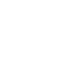 White outlined drawing of a three-finned fish, swimming right and smiling at the screen